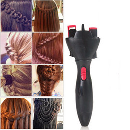 twist hair braiding styles Australia - High Quality Automatic Knitted Device Hair Braider Styling Tools DIY Electric Two Strands Twist Braid Maker Hair Braider Machine