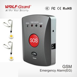 $enCountryForm.capitalKeyWord Australia - Wolf-Guard Wireless GSM SMS SOS Button Panel with Wristband SOS Button for Elder Children Emergency Home Alarm Security System 433MHZ
