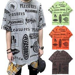 $enCountryForm.capitalKeyWord Australia - Pleasures Full Print Short Sleeve Tee Men Women Cool Summer T-shirts Cotton Loose T shirt Hip Hop Club Tees CLI0508