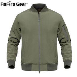 $enCountryForm.capitalKeyWord Australia - ReFire Gear Waterproof Soft Shell Tactical MA1 Jacket Men Winter Camouflage Pilot Jacket Warm Fleece Liner US Army Coat