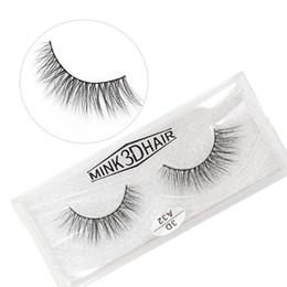 Real Mink False Eyelashes Australia - A32 3D A series 100% Real mink Eye Lashes Thick false Eyelashes a pair of false eyelashes with Crystal box