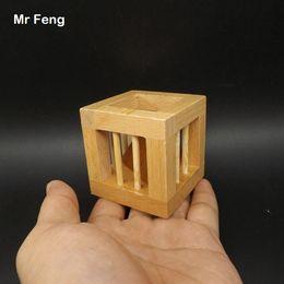 $enCountryForm.capitalKeyWord Australia - Brain Teaser Triangle Block Wooden Toy Kid Magic Trick Take Out Intellectual Game Children ( Model Number SL021 )