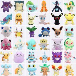 raichu plush toys 2019 - Pikachu Mimikyu Raichu Lapras Mew Dragonite Charmander Ditto Oddish Togepi Jigglypuff Mudkip Sylveon Snorlax Stuffed Dol