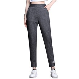$enCountryForm.capitalKeyWord Australia - Spring 2019 New Korean version of casual pants yoga Hallen pants womens wear in high elastic waist sports trousers children
