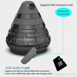 $enCountryForm.capitalKeyWord Australia - 165New Pyramid Cone Gift Wireless Bluetooth Speakers BS06 Portable Stereo Sound Subwoofer BS-06 USB TF card FM Radio Hands free MP3 Player