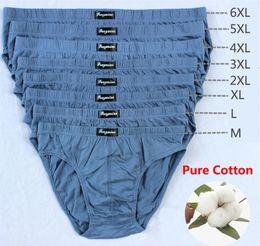 Wholesale 4xl mens briefs online – cheapest Cotton Mens Briefs Plus Size Men Underwear Panties XL XL XL Men s Breathable Panties