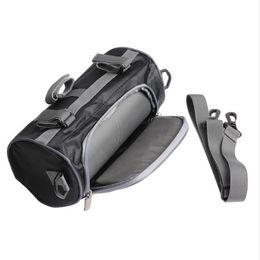 $enCountryForm.capitalKeyWord UK - Motorcycle Front Handlebar Fork Storage Bag Container Fabric Waterproof Moto Zipper Package Free Shipping