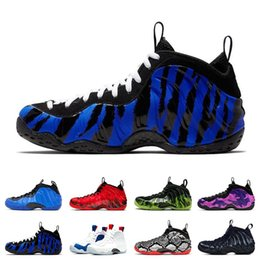 Air penny shoes online shopping - 2020 Air Foamposite Pro Penny Hardaway basketball shoes mens ports sneakers PURPLE CAMO HYPER COBALT SNAKESKIN USA Paranorman