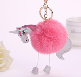Wood Planers Christmas Elk Deer Fur Ball Plush Keychains Backpack Pendant Bag Accessories Animal Doll Plush Key Ring For Party Gifts Strong Packing