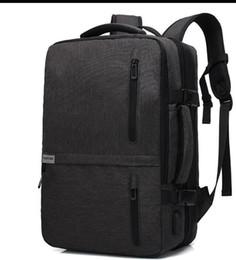 2019 многофункциональный мужской деловой моды рюкзак Оксфорд ткань путешествия мужская сумка рюкзак на Распродаже