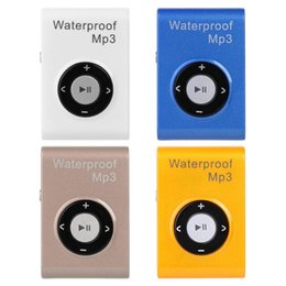 Waterproof mp3 player 4gb ipx8 online shopping - 4GB GB GB Portable Mini MP3 Player IPX8 Waterproof Underwater MP3 Player FM Radio Stereo Lossless Music Players with Earphone