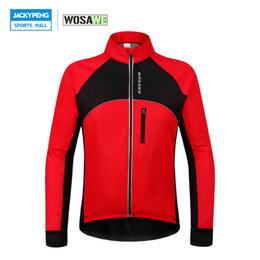 $enCountryForm.capitalKeyWord Australia - Wosawe Thermal Cycling Jackets Winter Warm Up Bicycle Clothing Windproof Waterproof Mtb Mountain Road Bike Jersey Wind Coat SH190702