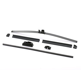 Wholesale Wholesale universal U-shaped wiper blade free shipping 16 18 19 20 22 inch car soft frameless automatic windshield natural rubber