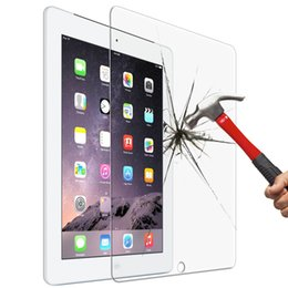 $enCountryForm.capitalKeyWord Australia - 0.4mm 9.7 Inch Transparent Premium Tempered Glass for iPad 2 3 4 Glass Screen Protector for iPad Air 2 Air2 Pro 9.7""