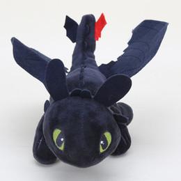 $enCountryForm.capitalKeyWord UK - New Movie How To Train Your Dragon Light Fury Night Fury Toothless Dragon Plush Doll Toys Children Kids Birthday Gift