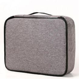 Document Bag Large Capacity Travel Passport Wallet Card Organizer Men's Business Waterproof Storage Pack Home Accessories Item on Sale
