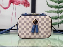 $enCountryForm.capitalKeyWord Australia - N43557 blue Fringed decorative camera WOMEN HANDBAGS ICONIC TOP HANDLES SHOULDER BAGS TOTES CROSS BODY bag CLUTCHES EVENING