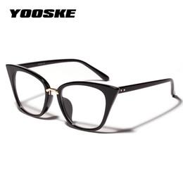 3e0e7c526d1 Clear Oversized Eyeglass Frames Australia - YOOSKE Cat Eye Frames Glasses  for Women Brand Designer Oversized