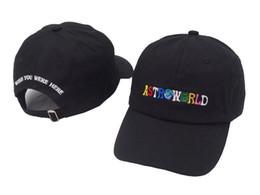 ad845a00b32 ASTROWORLD Baseball Caps Travis Scott Unisex Astroworld Dad Hat Cap High  Quality Embroidery Men Women Summer Cotton Hat