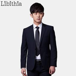 46a8cd1fd954 (jacket+pant+tie) Men Formal Suits Luxury Wedding Suit Male Blazers Slim  Fit Suits For Men Grey Black Party Classic Menswear T2190615
