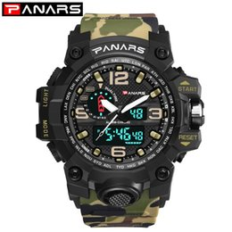 resistance electronics 2020 - PA Resistance When Men Army Style Watch Students Sports Watch Popular Cool Camouflage Women Street-Style Electronic Wate