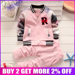 $enCountryForm.capitalKeyWord NZ - Bibicola Autumn Baby Girls Clothing Sets Floral Infant Girls Suit Kids Clothes Sport Children Clothing Suit Bebe Tracksuit Set J190427