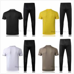 $enCountryForm.capitalKeyWord Australia - 2019 Maa RONALDO Short sleeve polo shirt soccer training suit 18 19 Real Maddrid Lapel juvve football shirt kit Polo shirt long pants