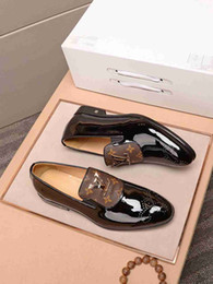 Lazy Low shoes online shopping - Mens Dress Business Formal Heel Loafers Low Top Casual Leather Lazy fake Shoes for kids