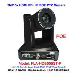 Ip camera ptz poe online shopping - Black Color MP full HD P X Professional RJ45 POE IP HDMI G sdi ptz camera for web VC System