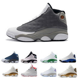 Basketball Sneakers For Cheap Australia - Cheap New 13 13s mens basketball shoes Bred Brown He Got Game Hologram Barons sneakers women sports trainers running shoes for men designer