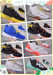 46f330623b9 Kyrie 5 Friends Taco Irish Have A Day causal Shoes Sneakers White Magic  Ikhet Bred Neon Blends PE 3 Mamba Concepts Kyrie Kyrie 5  Friends