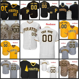 Custom 2019 Pirates Stitched Jersey para hombre 8 Willie Stargell 27 Jung Ho Kang Pittsburgh 45 Gerrit Cole Todos cosidos bordados Jerseys en venta