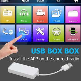12v socket for car online shopping - 12V Smart USB Dongle Adapter for Android iOS Carplay Car Navigation Player Socket Kits