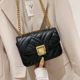 $enCountryForm.capitalKeyWord Australia - 1France Niche Bag Woman 2019 Western Style Joker Senior Texture Chain Messenger Small Black Package