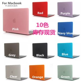 Macbook 11 Australia - Crystal Clear Cases Surface Protective Fundas Laptop Case Cover For New Macbook 11 12 inch 13.3 15 Air Pro With Retina Touch Bar