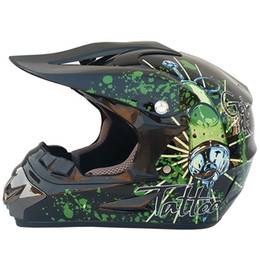 Motorcycle Helmets Yellow Color Australia - Motocross Helmet Motorcycle Helmet Full Face Riding Capacete De Moto Off Road Motorbike Racing Shield Moto