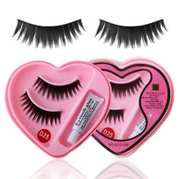 $enCountryForm.capitalKeyWord Australia - 1 Set Hot Sale Soft Natural Black Charming Thick Long False Eyelashes& Eyelashes Glue Makeup Tools