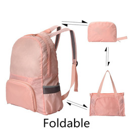 $enCountryForm.capitalKeyWord NZ - Foldable Waterproof Polyester Lightweight Promotional Packable Travel Hiking Backpack Daypack Camping Ultralight Outdoor Sport Backpack Bag