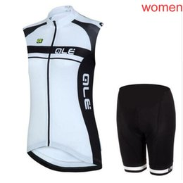 50bf1286ccc 2019 ALE pro team women sleeveless Cycling Jersey Set MTB bike Summer Cycling  Clothing Racing bicycle Clothes Ropa Ciclismo MTB Sportswear