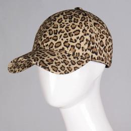 fb08a7b5 New Women's Baseball Cap Leopard Print Snapback Cap Females Outside Visor  Sun Fashion Accessories Casquette Gorras