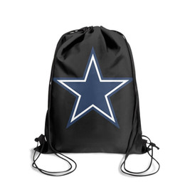 $enCountryForm.capitalKeyWord NZ - Drawstring Sports Backpack Dallas Cowboys primary logofashion durable cinch Pull String Backpack
