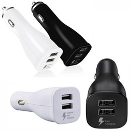 Car power adapter for android online shopping - Fast Quick Rapid Charger Dual Usb Car Charger Auto Power Adapter For Samsung Galaxy s6 s7 edge s8 s10 note htc android phone pc mp3