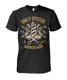 $enCountryForm.capitalKeyWord Australia - Funny Clothing Casual Short Sleeve Tshirts Barber Shop Shirt Daily Special Groom Style Hipster Mens Unisex Womens Tshirt T Shirt