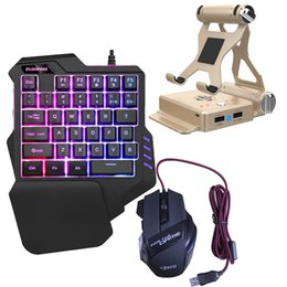 keyboard mouse for pc Canada - GameSir X1 Foldable Keyboard Mouse Converter Controller Adapter PC Mobile Gaming Stand Bluetooth 4.0 Gamepad Dock For Android