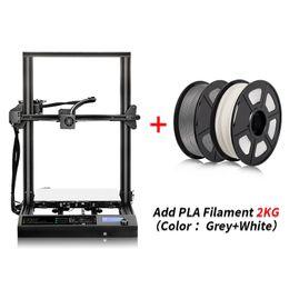 Опт DIY 3D Принтер 310 * 310 * 340 мм Экструдер Металл Рамка Высокая точность С ПЛС Накал Высокотемпературный материал для 3D Модель Модели
