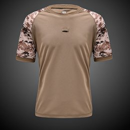 $enCountryForm.capitalKeyWord Australia - 2017 New Brand Men Summer Outdoor Sportswear Tshirts For Camping Mountain Quick Dry Coolmax Fast Dry T-shirt 15 Color