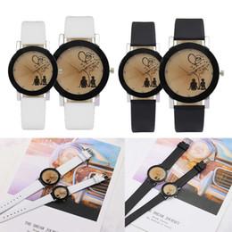 4cbf543d9d4c New Fashion Lovers Watches Men Women Casual Leather Strap Quartz Watch  Women s Dress Couple Watch Clock Gifts Relogios Femininos