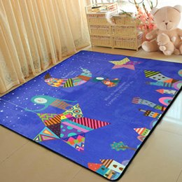 Children Hand Games Australia - Modern Cartoon Children Soft Carpets Kids Room Home large Area Decor Rugs Child Bedroom Crawl Mat Baby Living Room Game Tapete