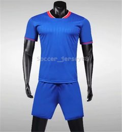 new soccer uniforms NZ - New arrive Blank soccer jersey #1905-7 customize Hot Sale Top Quality Quick Drying T-shirt uniforms jersey football shirts