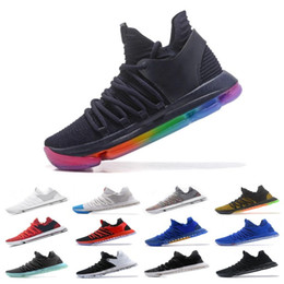 best website 89cac 5cf51 Cheap brand KD 10 Anniversary University Red Still Kd Igloo BETRUE Oreo Men  Basketball Shoes Kevin Durant Elite Sport Sneakers KDX 40-46